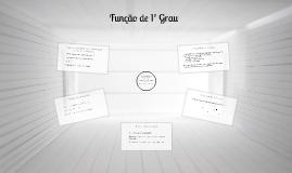 Copy of Função de 1º Grau
