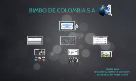 BIMBO DE COLOMBIA S.A