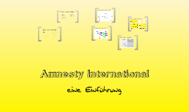Einführung in Amnesty International