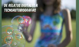 Relatos digitales - IFDEF