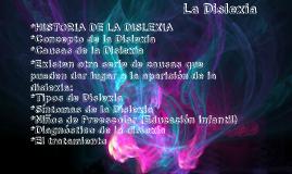 Copy of La Dislexia