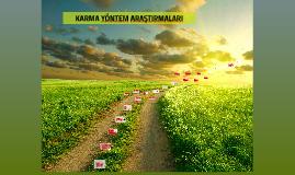 Copy of Karma Yöntem Araştırmaları