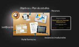 Doctorado Matemáticas- Universidad Nacional de Colombia