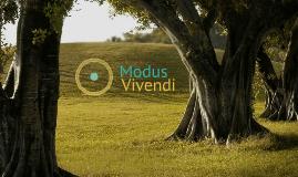 "Modus Vivendi ""Self"""
