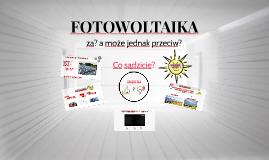 Copy of FOTOWOLTAIKA
