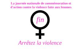 Journée nationale de la commémoration et d'action contre la violence faites aux femmes