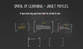 spiral of learning by Sarah Ivison on Prezi