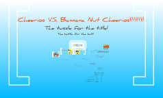 Which is Better for You? Cherios or Bannana-Nut Cherios?