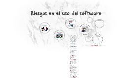 Riesgos en el uso del software