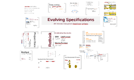 Evolving Specifications