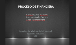 Copy of PROCESO DE FINANCIERA