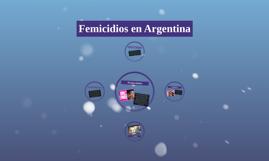 Femicidios en Argentina