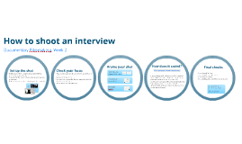 MP: Factual - How to shoot an interview