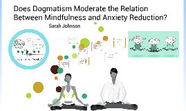 Does Dogmatism Moderate the Relation Between Mindfulness and Anxiety Reduction?