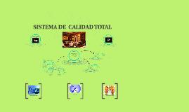 SISTEMA DE CALIDAD TOTAL