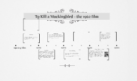 To Kill a Mockingbird film study
