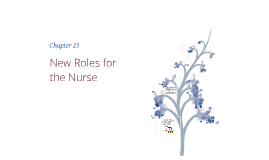 New Roles in Nursing