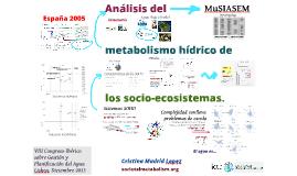 Metabolismo hídrico de SES (Iberico)