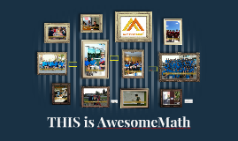 Welcome to AwesomeMath