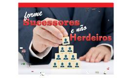 FORME SUCESSORES NÃO HERDEIROS