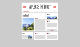 #PLEASE THE LORD?