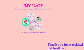 What is the food plate?