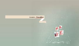 Genre-skrivning: Novelle