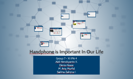 Copy of Handphone is important in our life