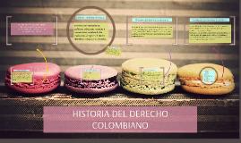 Historia del derecho colombiano