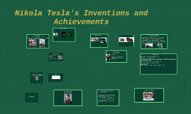 Nikola Tesla and his inventions