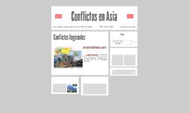 Conflictos en Asia