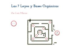 Las 7 leyes y las Bases Organicas