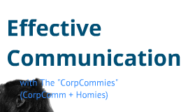 Effective Communication - Marketing Course