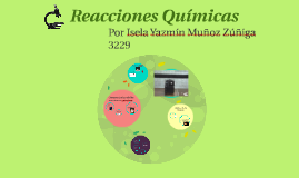 Copy of Reacciones Quimicas