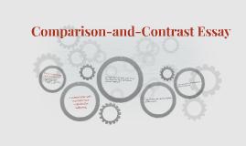 Comparison-and-Contrast Essay