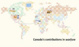 Canadas world impacts