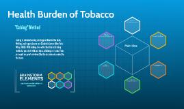 Health Burden of Tobacco