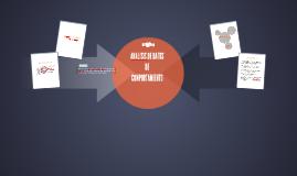 Análisis de datos (Comportamiento)