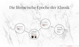 Die literarische Epoche der Klassik