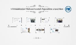 FDE RKGY - Felsőoktatási Diákszervezetek Egyesülete 2014-ben