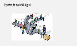Proceso de material digital