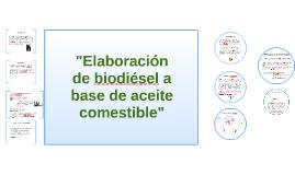A principios del siglo xix se conocan la suficiente cantid by elaboracion de biodiesel a base de aceit urtaz Images