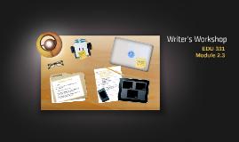 Module 4.2 Writer's Workshop