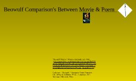 Beowulf Comparison Movie/Poem