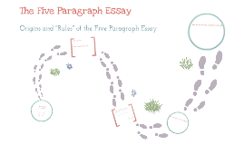 Copy of The Five Paragraph Essay