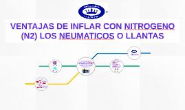BENEFICIOS DEL N2 EN NEUMATICOS