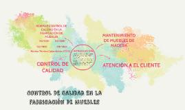 Copy of CONTROL DE CALIDAD EN la FABRICACION DE MUEBLES
