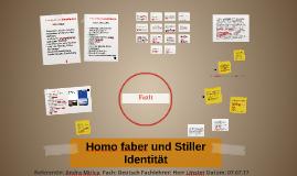 Homo faber und Stiller