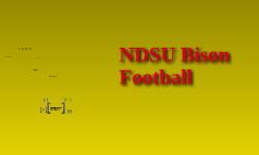 ndsu bison football