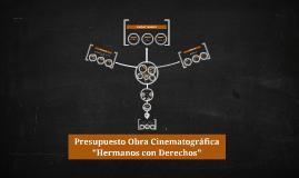 Copy of Presupuesto Obra Teatral